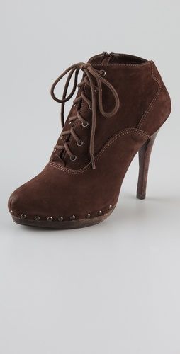 Madison Harding Clay Lace Up Booties Best Buy from getmycouture.com