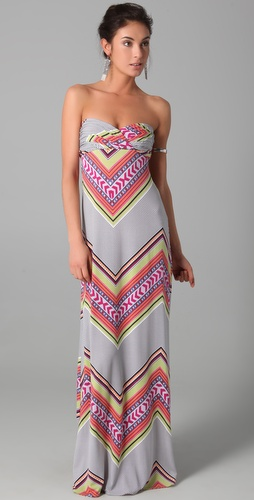 buy Mara Hoffman Bandeau Maxi Dress by Mara Hoffman online swimsuits shop