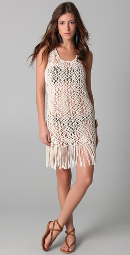buy Mara Hoffman Macrame Dress by Mara Hoffman online swimsuits shop