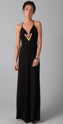 buy Mara Hoffman Beaded Ray Back Maxi Dress by Mara Hoffman online swimsuits shop