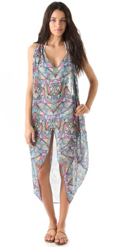 buy Mara Hoffman Chiffon Dashiki Cover Up by Mara Hoffman online swimsuits shop