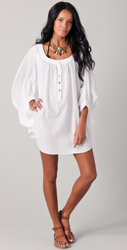 buy Mara Hoffman Cocoon Cover Up Tunic by Mara Hoffman online swimsuits shop