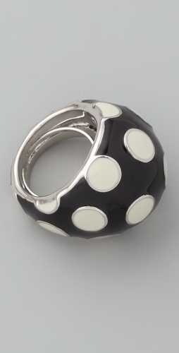 Marc by Marc Jacobs Classic Marc Polka Dot Dome Ring