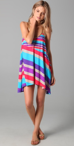 buy Marc by Marc Jacobs Merida Striped Cover Up Dress by Marc by Marc Jacobs online swimsuits shop