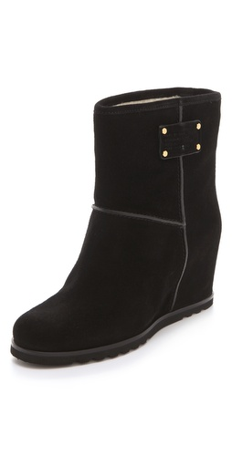 Buy Marc by Marc Jacobs Shearling Wedge Boots - Marc by Marc Jacobs online - Footwear, Womens, Footwear, Boots, at Heel Addict Online Shoe Shop