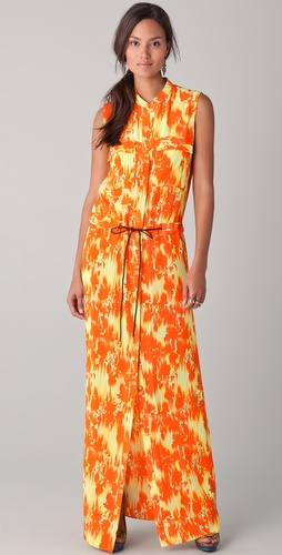 Matthew Williamson Utility Column Dress