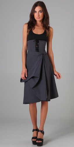 McQ - Alexander McQueen Drape Dress