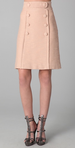 Milly Allegra Knee Length Skirt