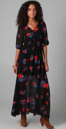 MINKPINK Carnaby Floral Maxi Dress