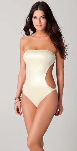 buy Melissa Odabash Geneva Metallic One Piece by Melissa Odabash online swimsuits shop