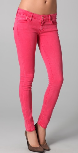 Hot Pink Skinny Jeans - Search By Inseam Blog