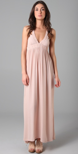 Oscar the Third Slinky Elastic Long Dress