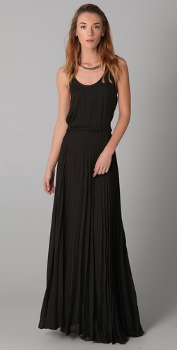 Parker Pleated Maxi Dress