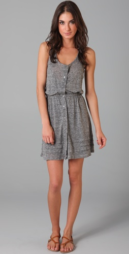 Patterson J. Kincaid Linen Priscilla Tank Dress