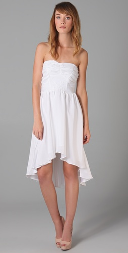 Pencey Lace Hi Lo Dress