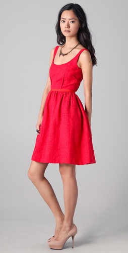 Peter Som Full Skirt Day Dress