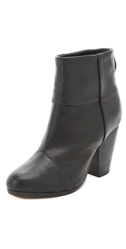 Rag & Bone Classic Newbury Lizard Booties
