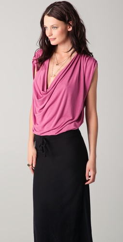 Riller & Fount Boone Draped Top