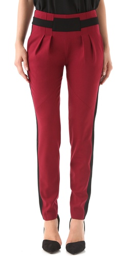 Rebecca Minkoff Gavin Pleated Wool Pants