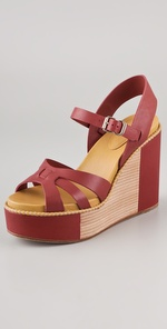 See by Chloe Wedge Platform Sandals