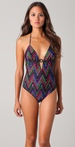 Shoshanna Aztec Summer One Piece