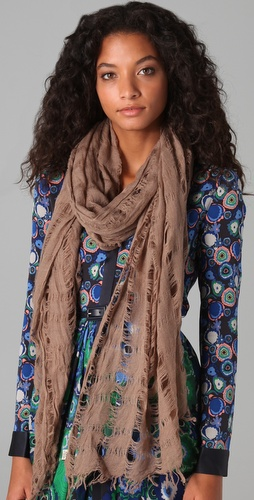 Spun Scarves Open Wave Scarf