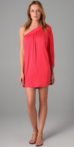 Tbags Los Angeles One Shoulder Dress