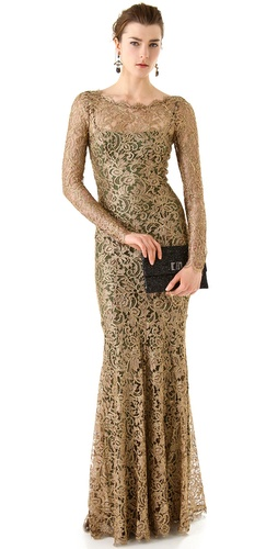 Temperley London Ariel Lace Maxi Dress