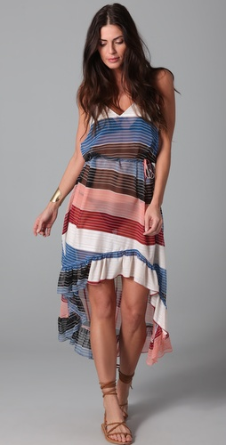 buy Thayer Wild Stripe Maxi Dress by Thayer online swimsuits shop