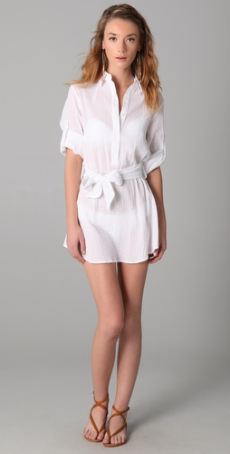 buy Thayer Shirtdress Cover Up by Thayer online swimsuits shop