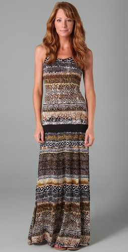 Torn by Ronny Kobo Morgan Long Dress