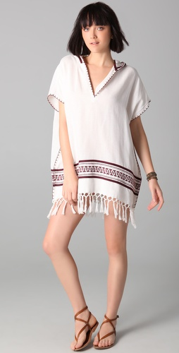 buy Tory Burch Beach Poncho by Tory Burch online swimsuits shop