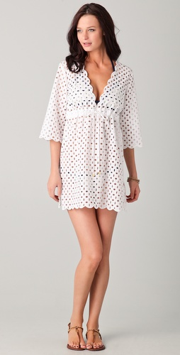 buy Tory Burch Eyelet Cover Up Dress by Tory Burch online swimsuits shop