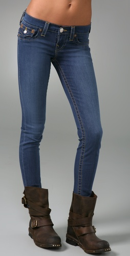 True Religion Misty Super Skinny Leggings