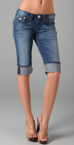 True Religion Sophie Denim Shorts