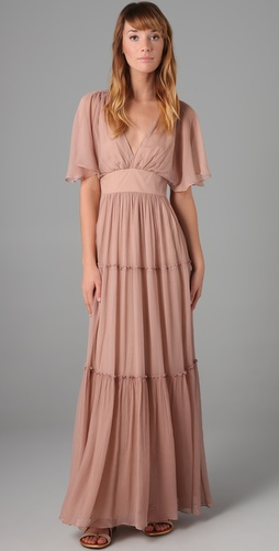 Twelfth St. by Cynthia Vincent Tiered Long Dress