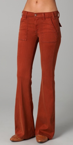 TEXTILE Elizabeth and James Neville Flare Jeans