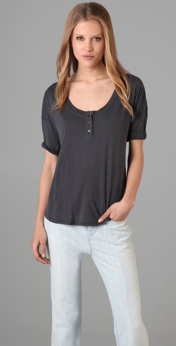 Velvet Bruna Henley Top