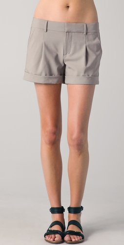 Vince Pleated Side Insert Shorts