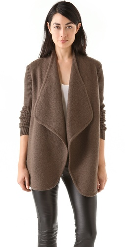 Vince Boiled Wool Jacket