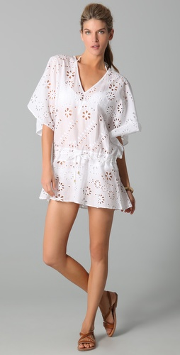 buy Vix Swimwear Solid Vintage Lace Cover Up by Vix Swimwear online swimsuits shop