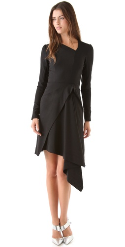 Willow Angle Drape Dress