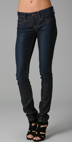 William Rast Jerri Mid Rise Ultra Skinny Jeans
