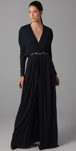 Yigal Azrouel Embellished Gown