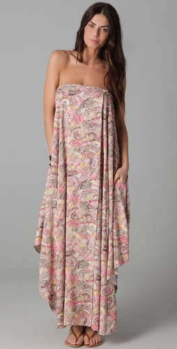 buy Zimmermann Charmer Knot Maxi  Dress by Zimmermann online swimsuits shop