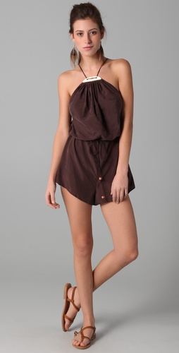 buy Zimmermann Femme Copper Plate Jumpsuit by Zimmermann online swimsuits shop