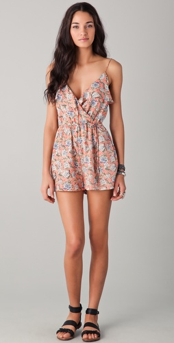 buy Zimmermann Rebel Frill Playsuit by Zimmermann online swimsuits shop