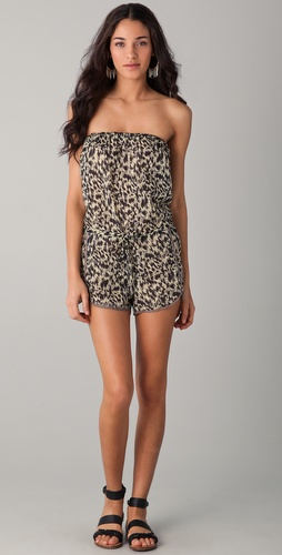 buy Zimmermann Rebel Bound Playsuit by Zimmermann online swimsuits shop