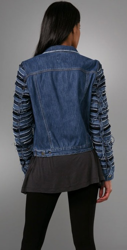 Acne Slice Denim Jacket from shopbop.com