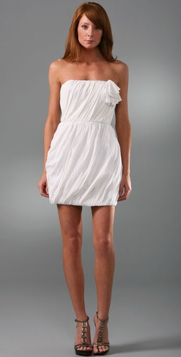 ADAM Aja Strapless Dress